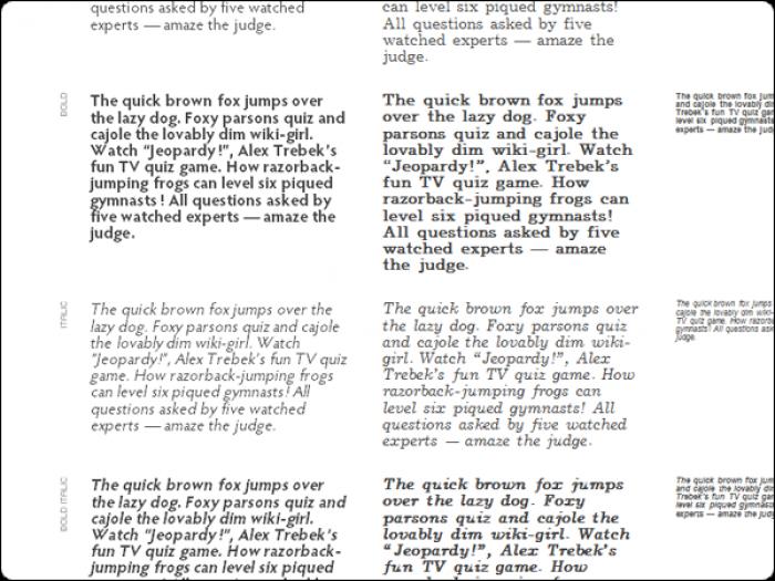 Для журнала выбрано 2 основных шрифта, это Hypatia Sans Pro и JournalCTT