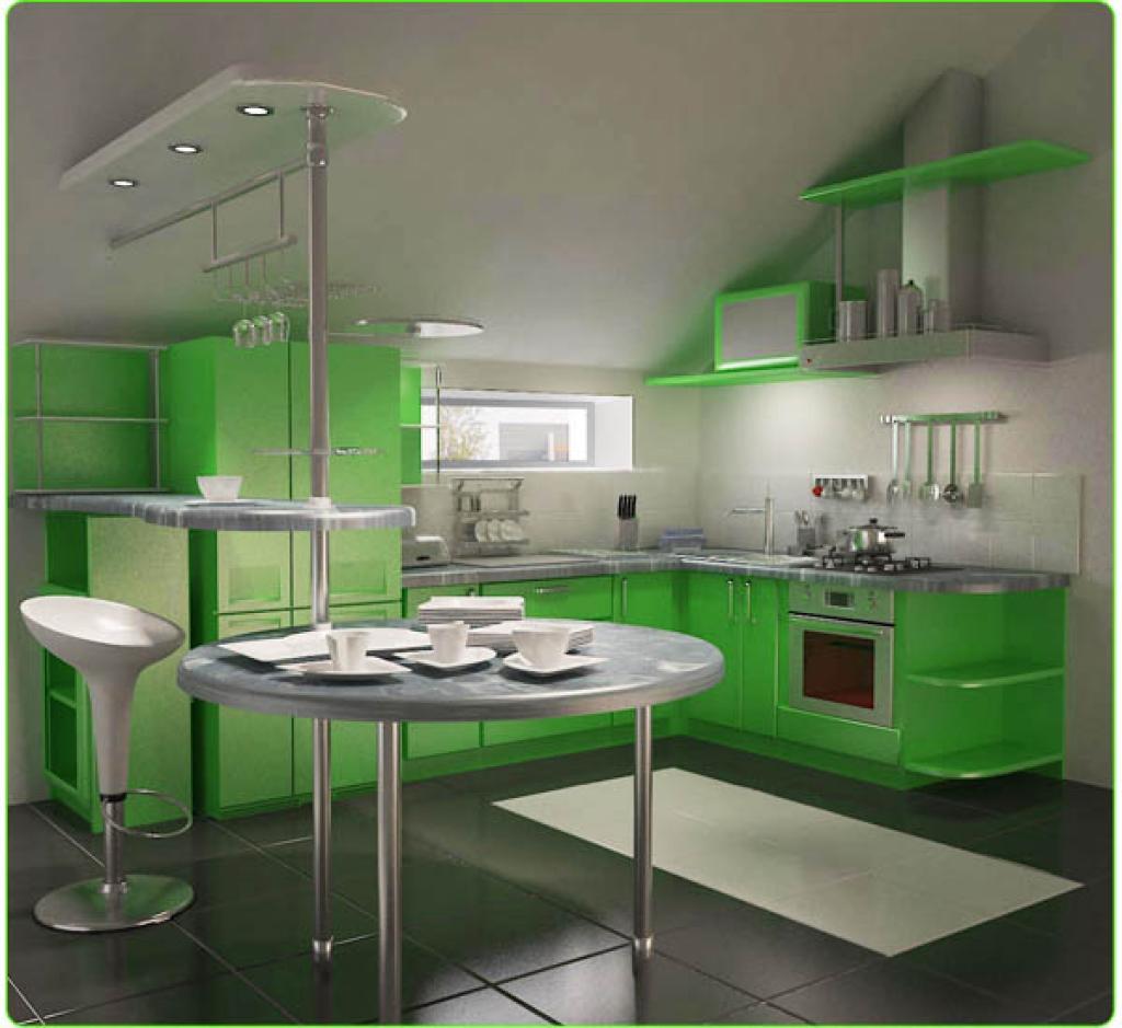 Кухня — дизайн-интерьер
