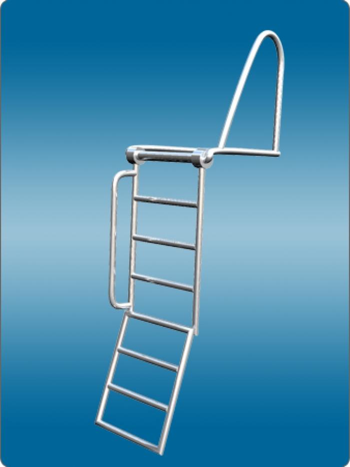 Чертеж лестницы - для яхты
