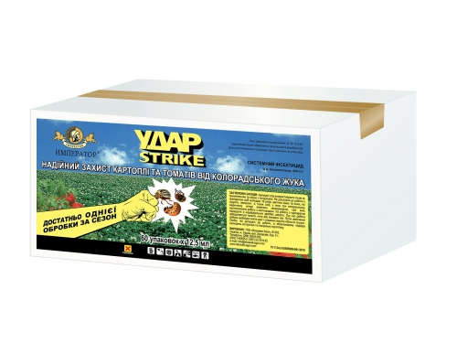 Удар Strike - Тарная этикетка