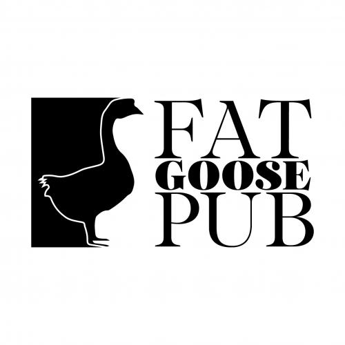 FAT GOOSE PUB -Логотип