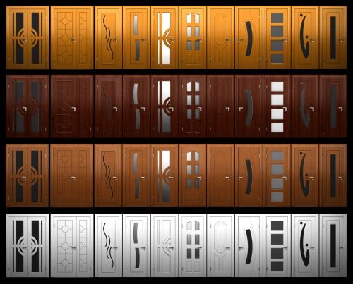 3D модели дверей