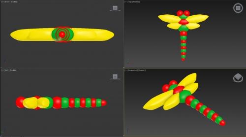Designing 3D shapes