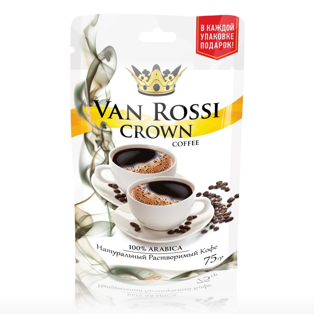 Дизайн упаковки кофе CROWN