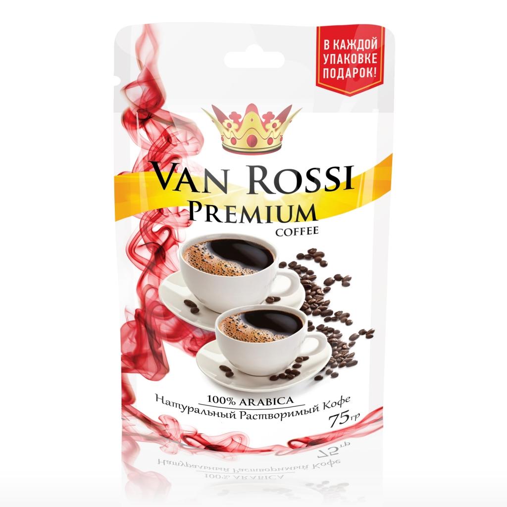 Дизайн упаковки кофе Premium