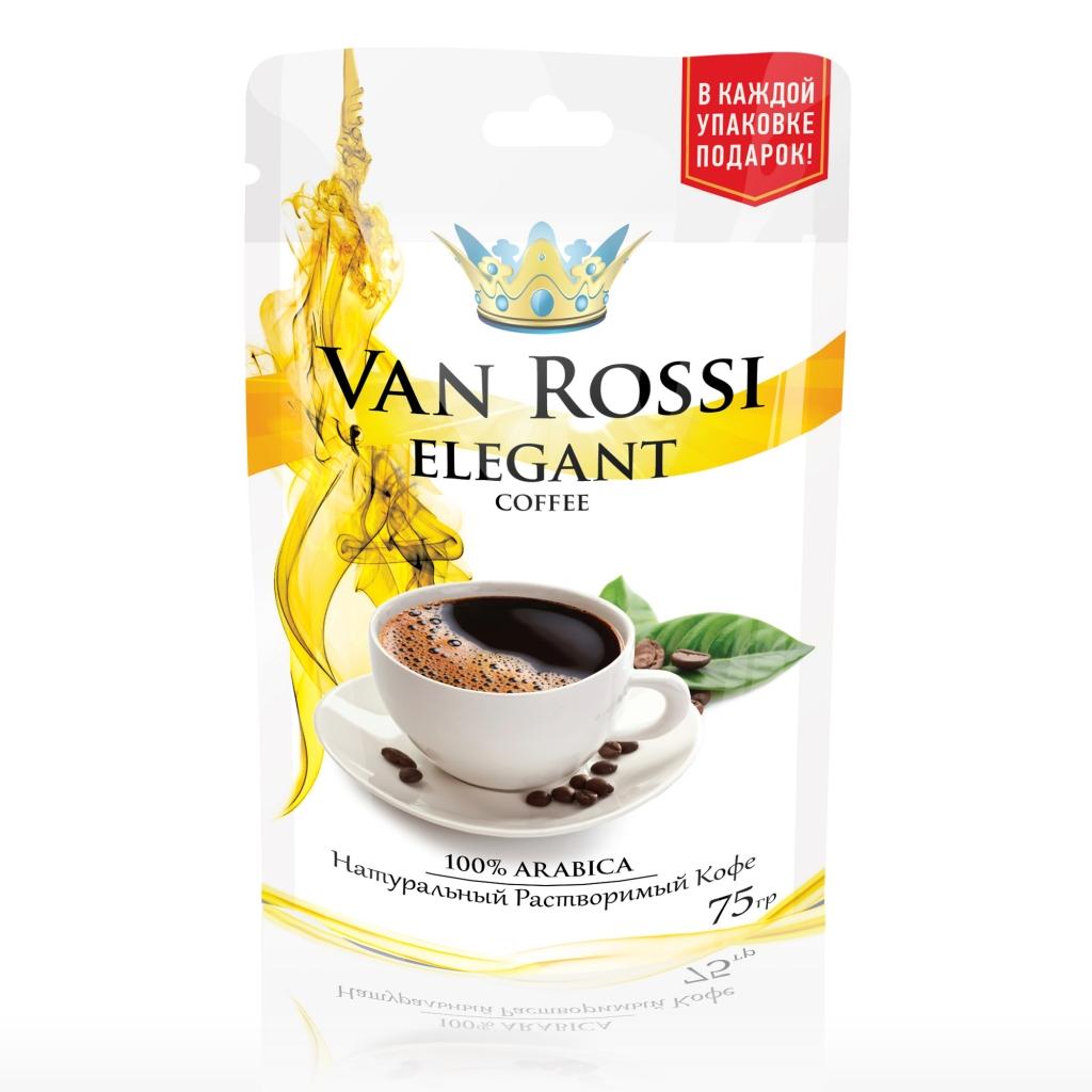 Дизайн упаковки кофе Elegant