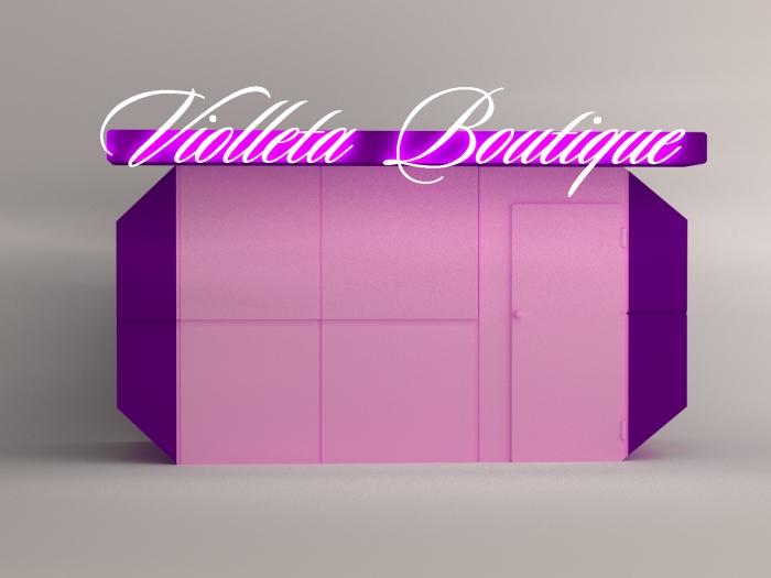 Selection of the color palette - Violleta Boutique
