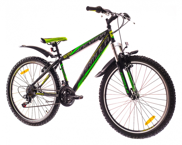 26 NEVADA черно-зеленый 2016