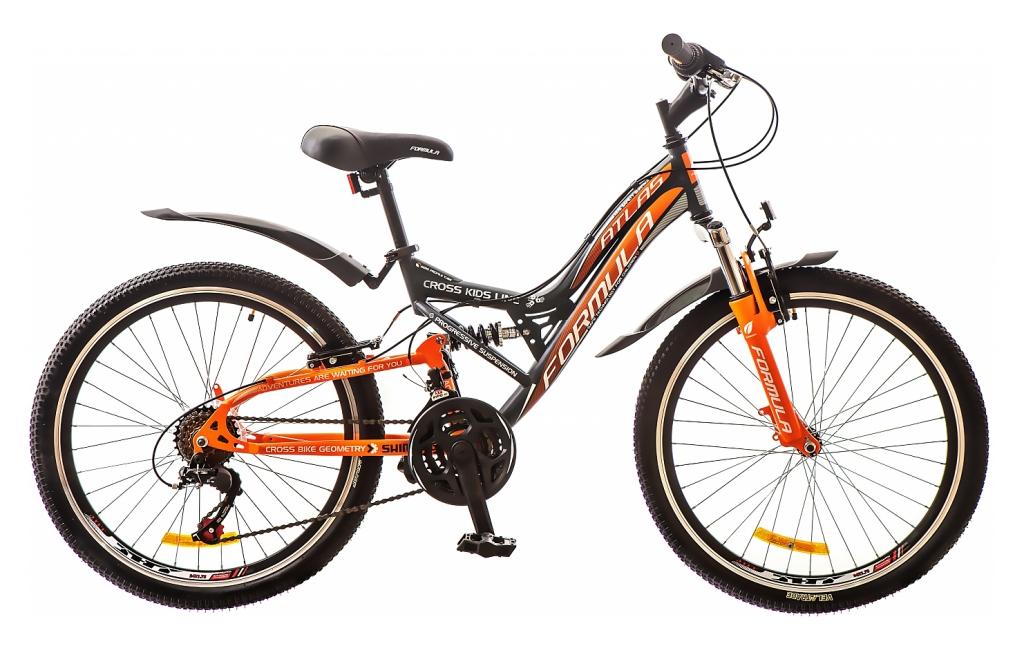 24 ATLAS черно-оранжевый 2016