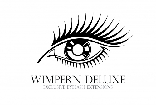 Ребрендинг логотипа Wimpern DeLuxe