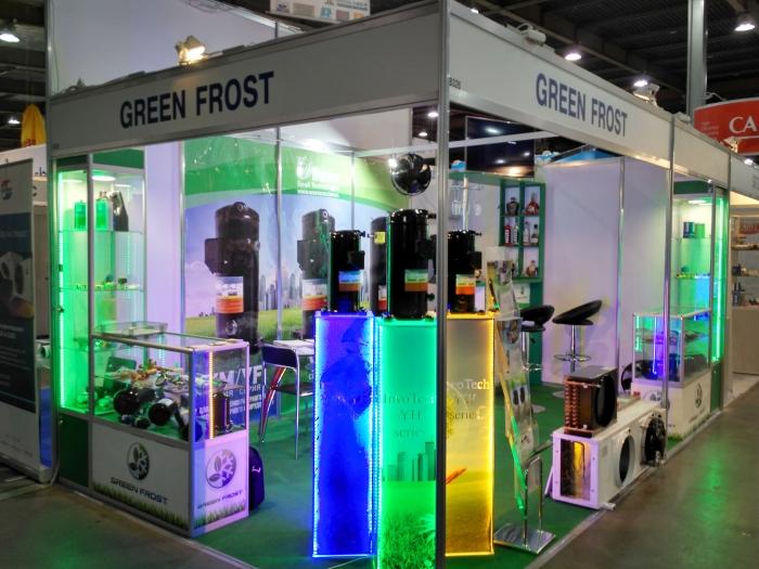 Брендирование выставочного стенда GreenFrost