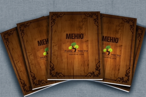 Development of a design concept for the menu series