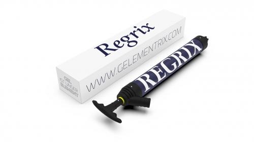 Gelementrix branded product design - Regrix