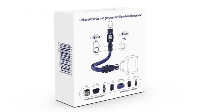 Gelementrix branded product design - Fillix