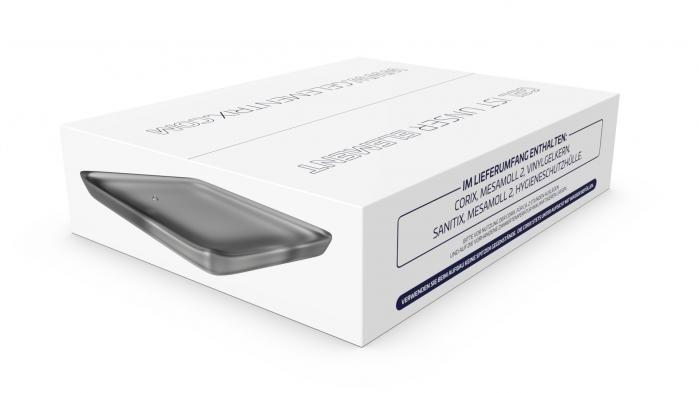 Gelementrix branded product design - Corix Box