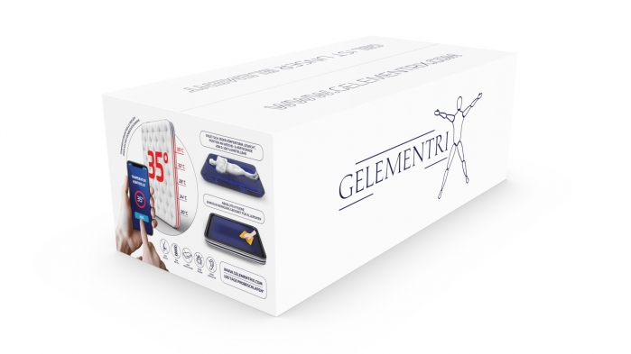 Gelementrix branded product design - main