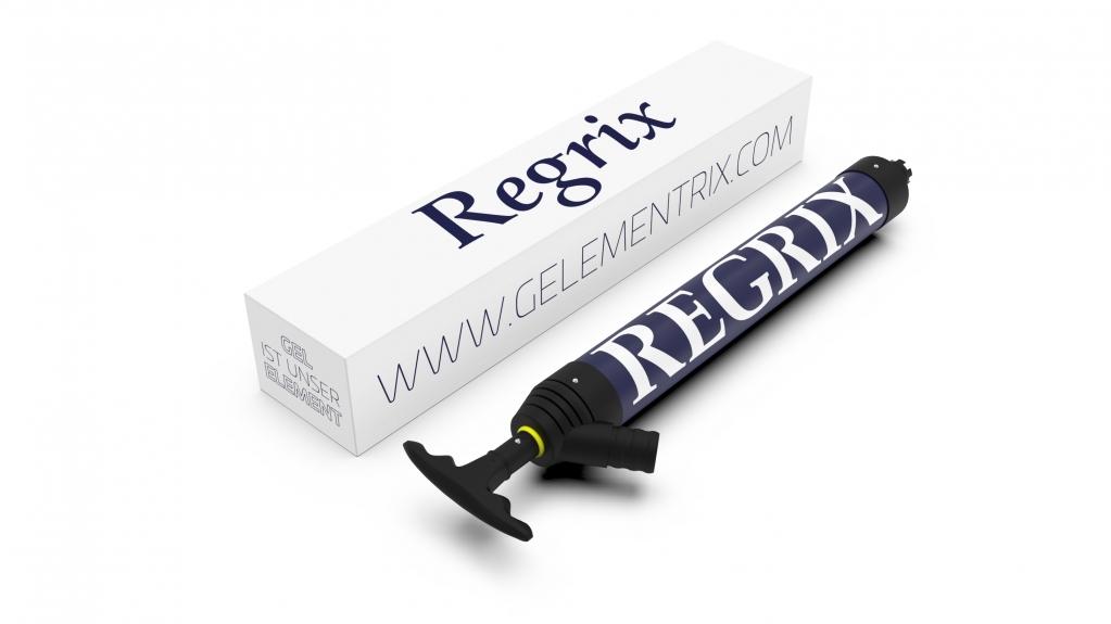 Брендирование продукции Gelementrix - Regrix