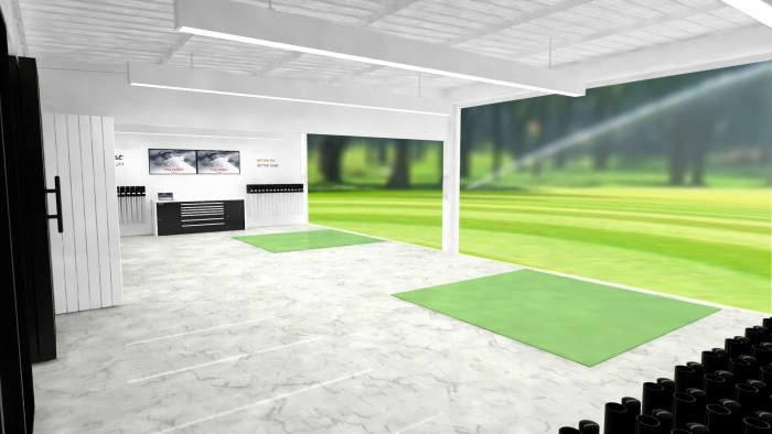 3D office visualization