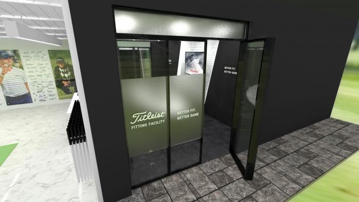 Вариант дизайна комнаты для совещаний - снаружи