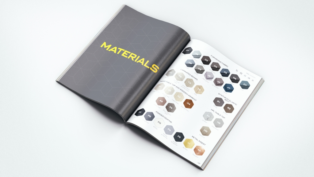 Furniture catalog for GAE.design