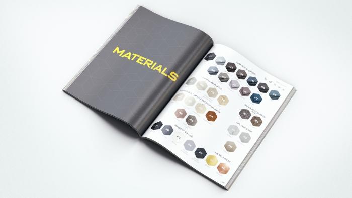 Каталог мебели для компании GAE.design