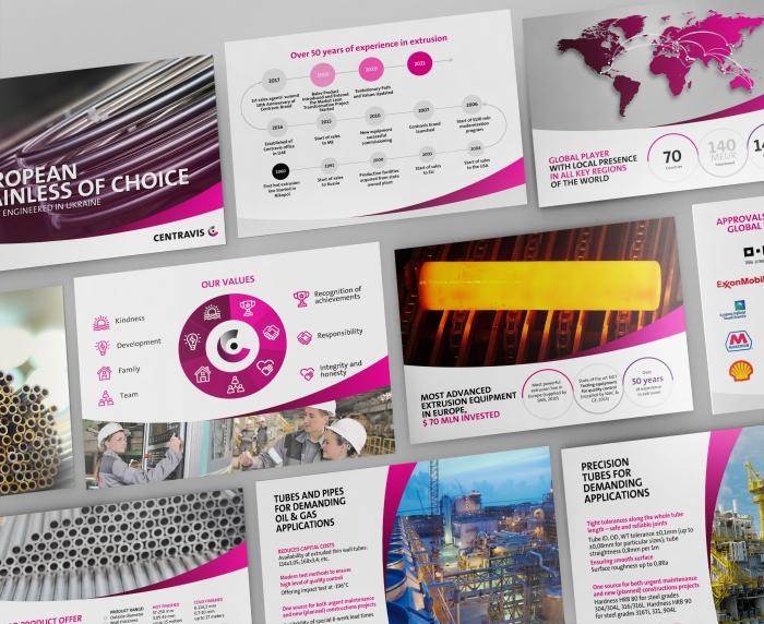 Presentation Design for Centravis