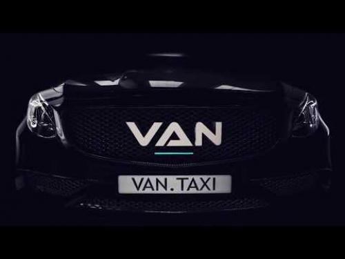 VAN Taxi презентационный ролик на плазму
