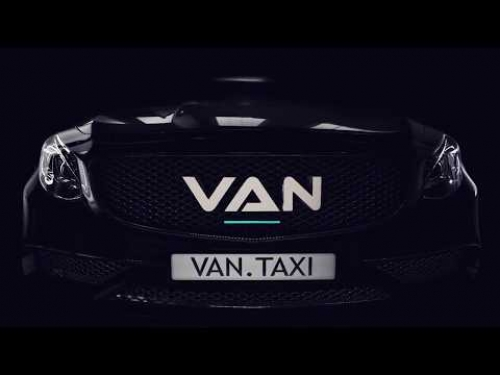 VAN Taxi presentation video on plasma