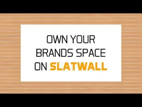 Own your brands space on SlatWall