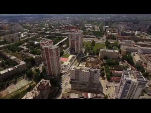 3D Architectural visualization. Augmented Reality. Kharkov, Naukova. Presentation