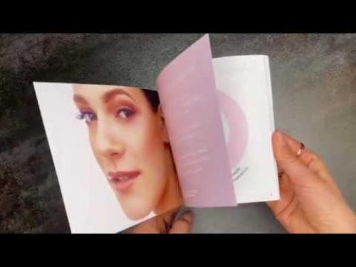 Design a brochure - Lash Art Guide